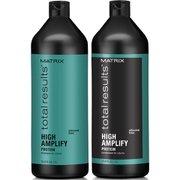 Шампунь и кондиционер для объема тонких волос Total Results High Amplify Shampoo and Conditioner (1000 мл) Matrix