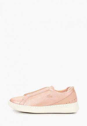 Кроссовки Lacoste EYYLA SLIP 119 1 CFA. Цвет: розовый