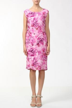 Платье Orsan. Цвет: фуксия