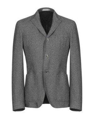 Пиджак MANUEL RITZ WHITE. Цвет: стальной серый
