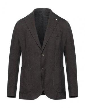 Пиджак L.B.M. 1911. Цвет: темно-коричневый