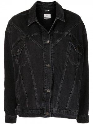 Джинсовая куртка New Wave Ksubi. Цвет: черный
