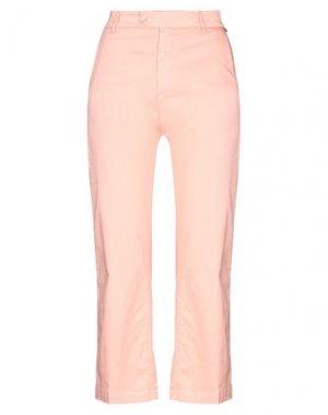 Брюки-капри ROŸ ROGER'S. Цвет: лососево-розовый