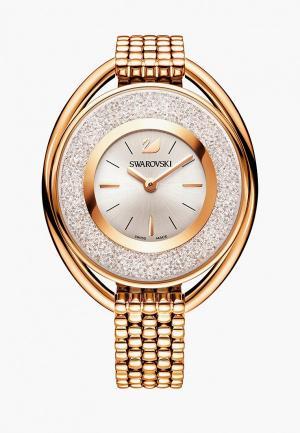 Часы Swarovski® CRYSTALLINE OVAL. Цвет: золотой