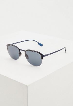 Очки солнцезащитные Burberry BE3103 128887. Цвет: синий