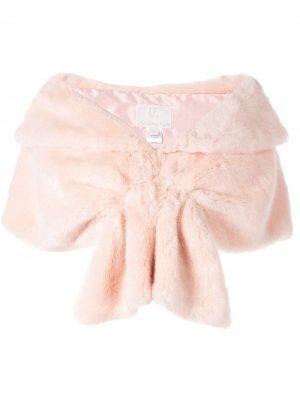 Шаль из искусственного меха Unreal Fur. Цвет: розовый