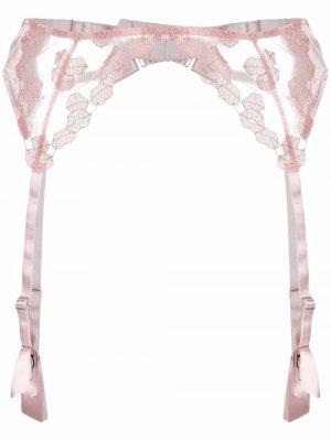 Пояс для чулков Valentina Fleur Of England. Цвет: розовый