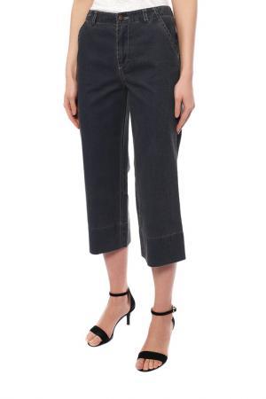 Капри джинсовые Orsan. Цвет: синий