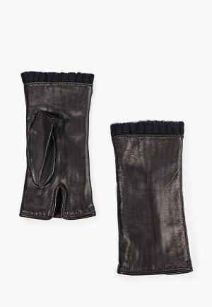 Митенки Sermoneta Gloves. Цвет: черный