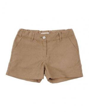 Повседневные шорты ELSY. Цвет: песочный