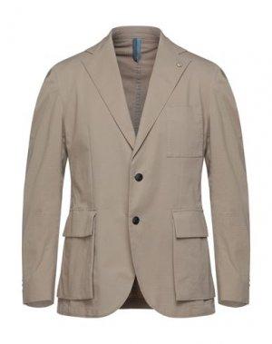 Пиджак HARMONT&BLAINE. Цвет: песочный