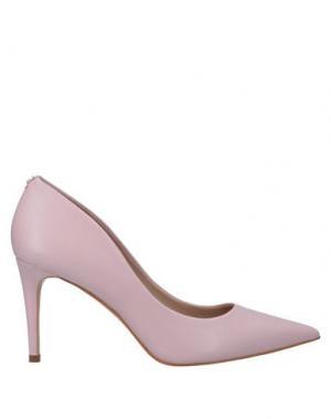 Туфли GUESS. Цвет: светло-розовый