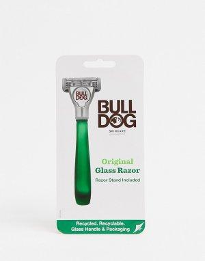 Бритва со стеклянной ручкой Original-Бесцветный Bulldog