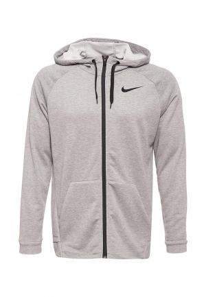 Толстовка Nike Mens Dry Training Hoodie. Цвет: серый