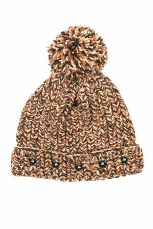 Шерстяная шапка 7II. Цвет: коричневый