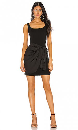 Платье synergetic sarong Bailey 44. Цвет: черный
