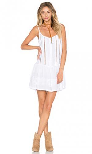 Платье palermo Cleobella. Цвет: белый