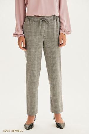 Прямые брюки на кулиске LOVE REPUBLIC