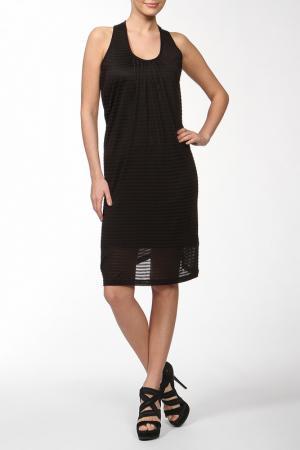 Платье джерси Full Circle. Цвет: черный