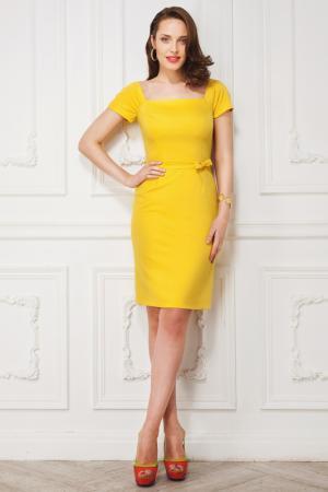 Платье LA VIDA RICA. Цвет: желтый