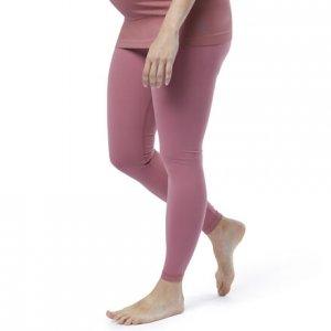 Леггинсы Yoga Lux 2.0 Maternity Reebok. Цвет: rose dust