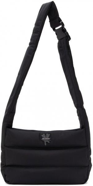 Black Heaven By Nylon Messenger Bag Marc Jacobs. Цвет: black