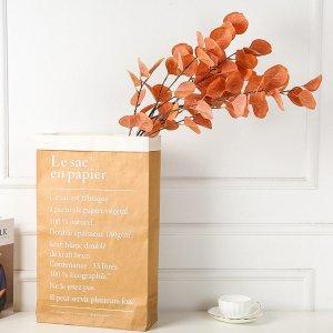 1 ветка искусственная листва SHEIN. Цвет: многоцветный