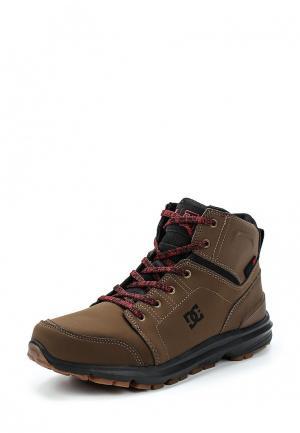 Ботинки DC Shoes TORSTEIN. Цвет: коричневый