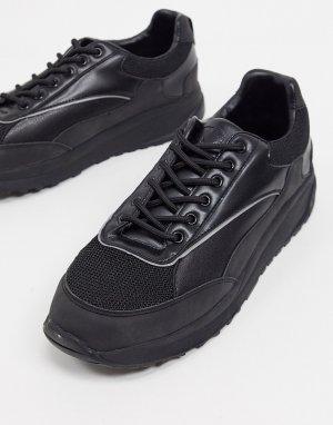 Черные кроссовки -Черный Criminal Damage