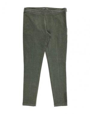 Повседневные брюки ERMANNO SCERVINO JUNIOR. Цвет: зеленый-милитари