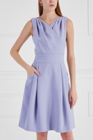 Однотонное платье Chapurin. Цвет: фиолетовый