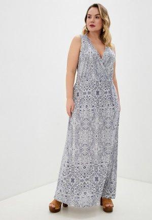 Платье Junarose. Цвет: синий