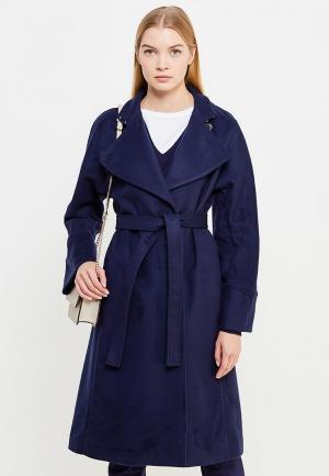 Пальто Patrizia Pepe. Цвет: синий