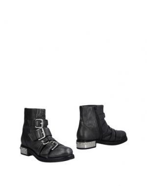 Полусапоги и высокие ботинки GIANCARLO PAOLI. Цвет: стальной серый