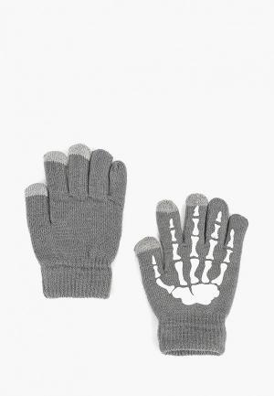 Перчатки Modis. Цвет: серый