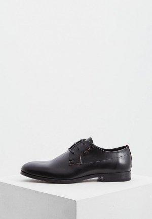 Туфли Hugo. Цвет: черный