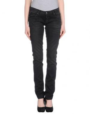Джинсовые брюки FAITH. Цвет: черный