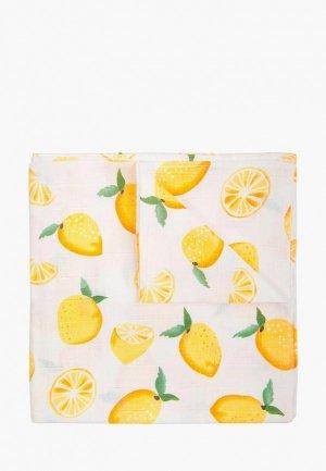 Пеленка Сонный Гномик Лимон