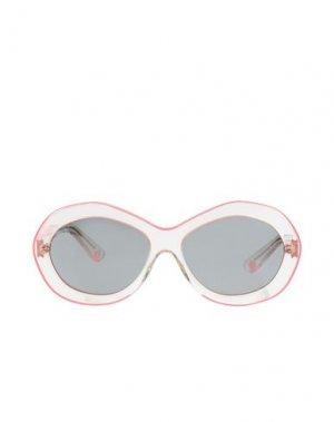 Солнечные очки KATIE GRAND LOVES HOGAN. Цвет: прозрачный