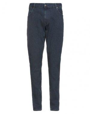 Джинсовые брюки ASTON MARTIN RACING by HACKETT. Цвет: синий
