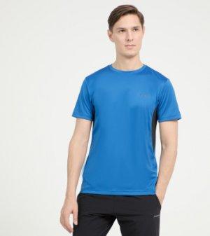 Футболка мужская , размер 54 Demix. Цвет: синий