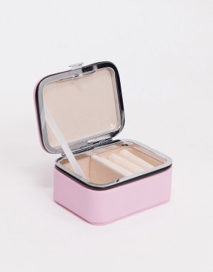 Розовая шкатулка для путешествий -Розовый цвет SVNX