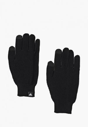 Перчатки adidas W GLOVES. Цвет: черный