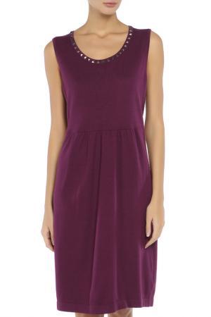 Платье Via Appia. Цвет: фиолетовый