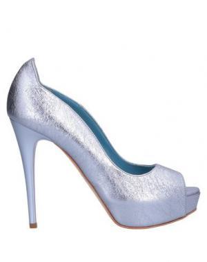 Туфли SGN GIANCARLO PAOLI. Цвет: лазурный