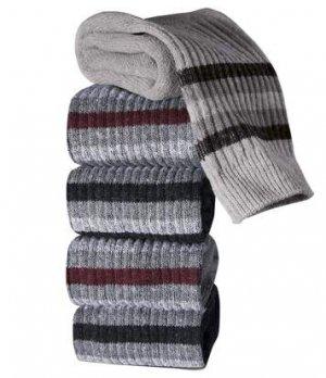 Комплект Спортивных Носков — 5 пар Atlas For Men. Цвет: серый