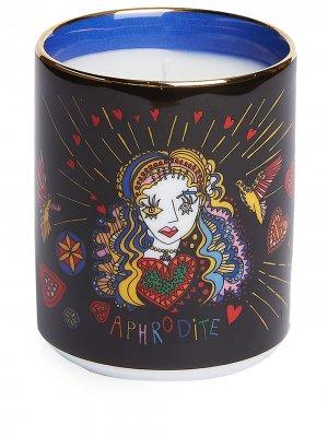 Ароматическая свеча Aphrodite La Doublej. Цвет: черный