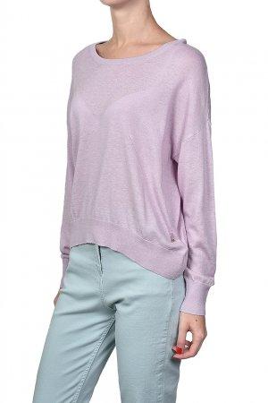 Розовый трикотажный пуловер Patrizia Pepe