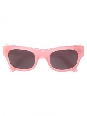 Солнцезащитные очки Type 06 Sun Buddies. Цвет: розовый и фиолетовый