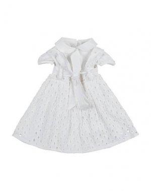 Платье I GIANBURRASCA. Цвет: белый